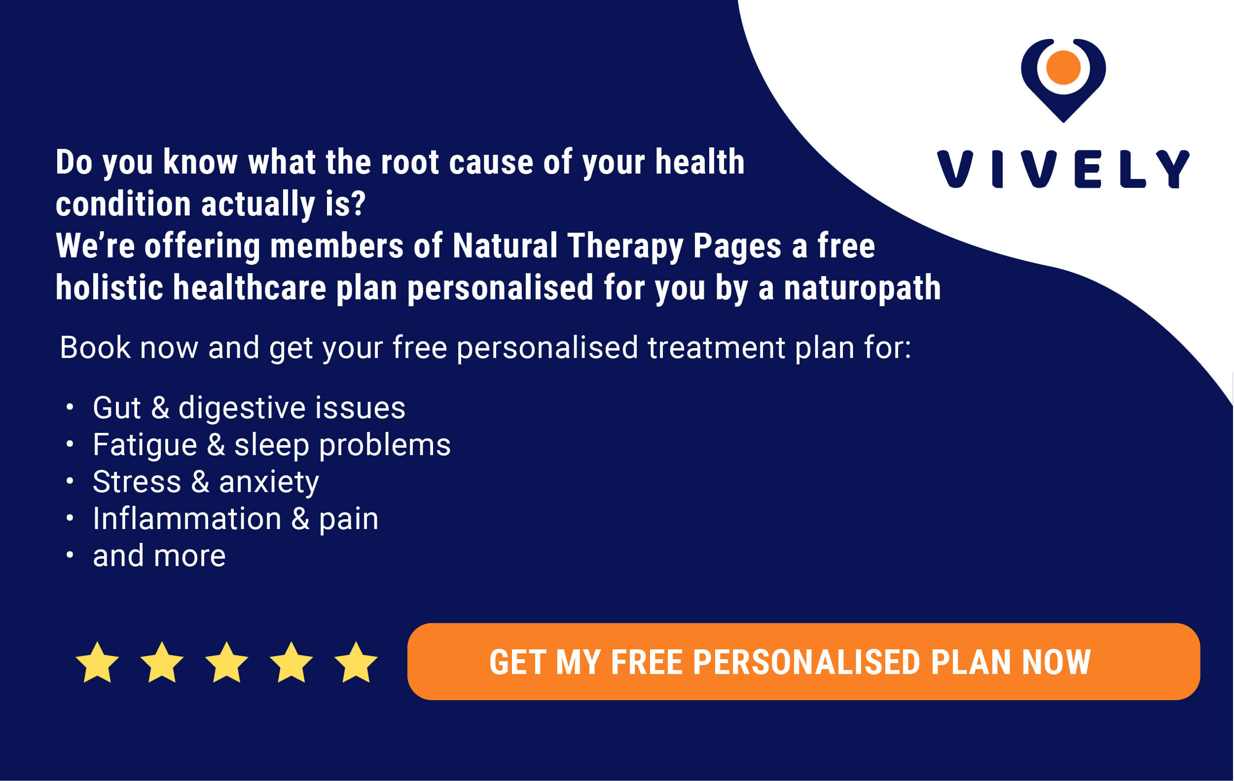 Vively - Get holistic health advice from the comfort of your home.